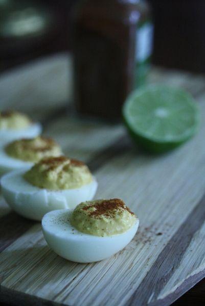 sriracha deviled eggs | gotta steal to eat, gotta eat to live | Pinte ...