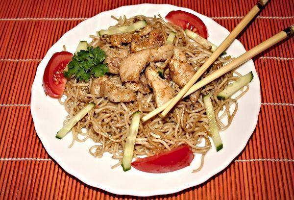 Recept na Vietnamské restované nudle