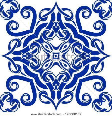 Oriental traditional ornament, Mediterranean seamless pattern, tile design, vector illustration