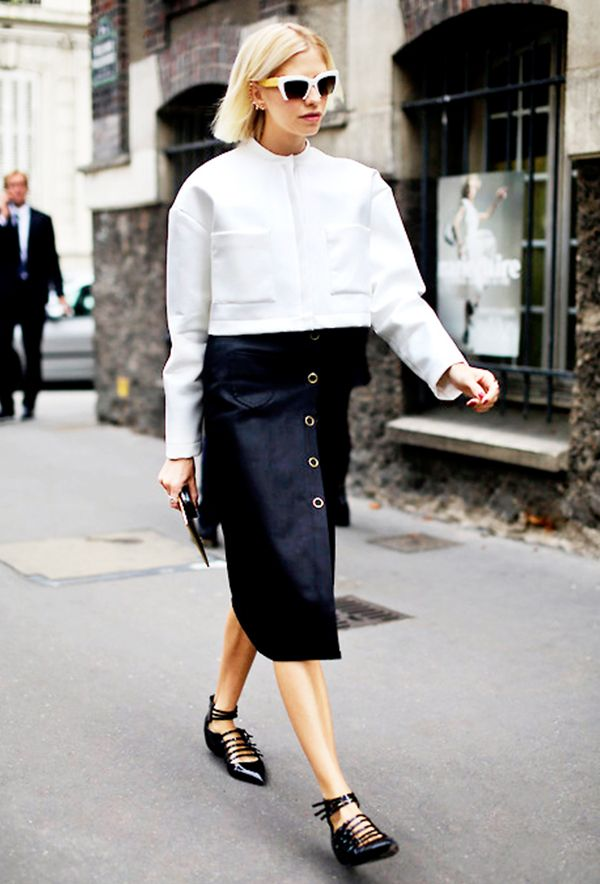 How to Get Away With Wearing Flats Anywhere via @WhoWhatWear