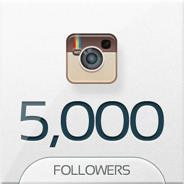 Increase your followers on instagram! Buy 5000 instant followers...