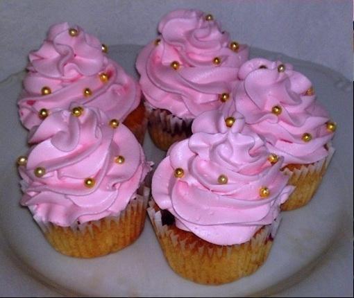 Malinovo jogurtové cupcakes. - recept