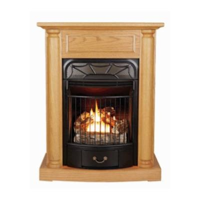 Windsor Wood Freestanding Vent Free Gas Fireplace True Value 500 Fake The Funk With A Pre