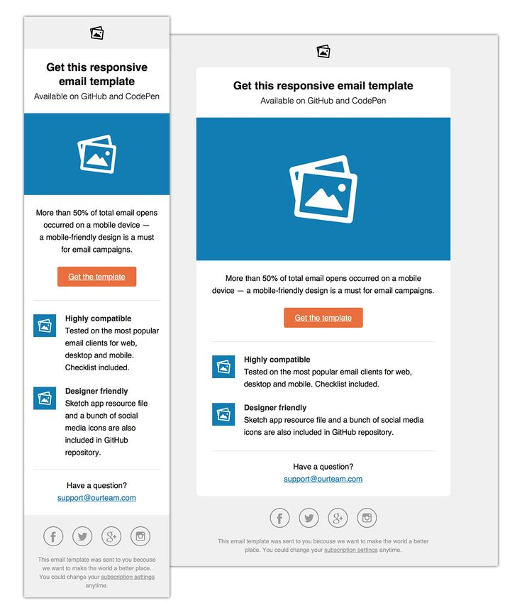 The 25+ best Responsive html email template ideas on Pinterest - email survey template