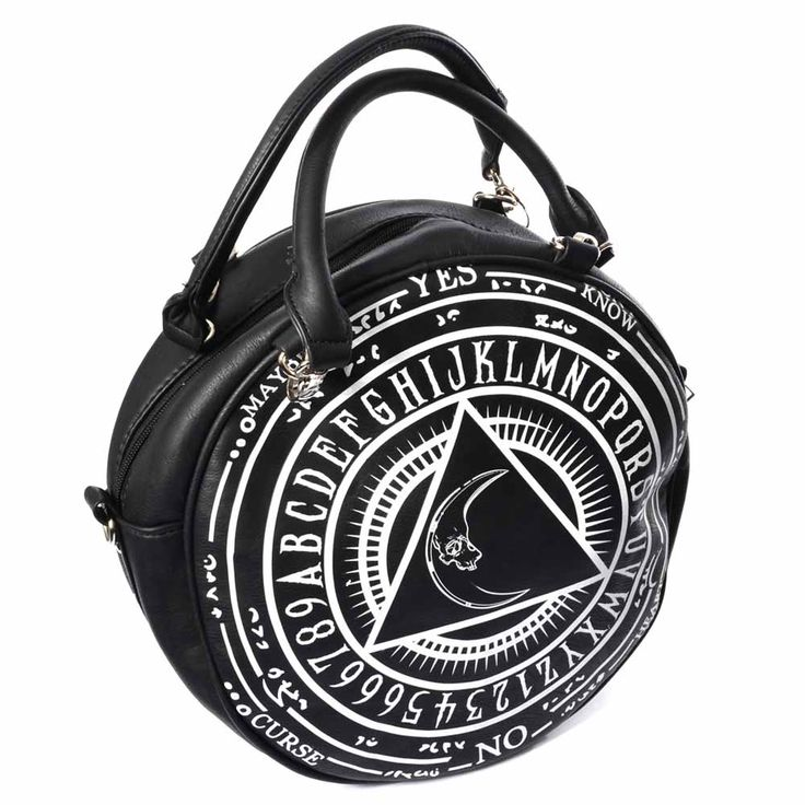 Handtasche in okkultem Witchboard Design | VOODOOMANIACS
