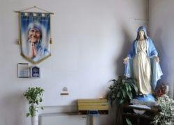 I capelli di Madre Teresa da Calcutta a Grosseto nella chiesa che non c'è