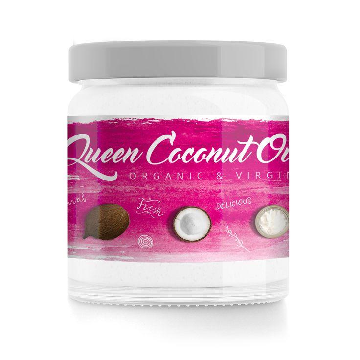 Queen Coconut Oil, im Glas 400 ml, Marke GymQueen jetzt online - sofort lieferbar. #Coconut #Coconutoil #oil #oel #Kokos #Kokosnuss #News #Figur #Fitness #abnehmen #lowcarb #GymQueen #kochen #cooking #Dulliken #Olten #active12 ►►► Lagerverkauf: http://www.active12.ch/info/Oeffnungszeiten.html