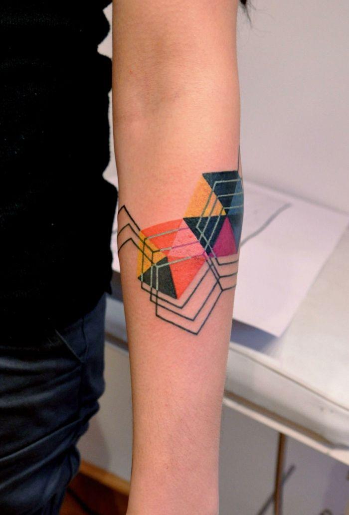 1001 Ideas Diseños Originales De Tatuajes Geométricos Tatto