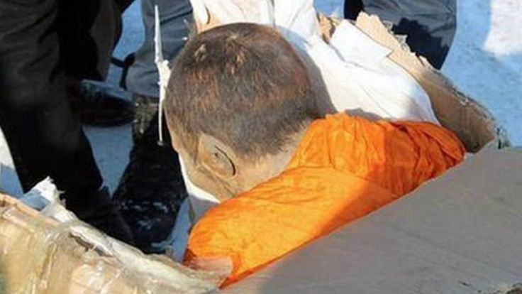 A mummified monk found preserved in Mongolia last week is baffling those who uncovered him, with senior Buddhists saying he is still alive.