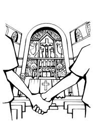 vele christenen trouwen voor de overheid en voor de kerk. pas als ze in de kerk zijn getrouwd erkent god ze als man en vrouw. alleen de katholieken erkennen dit sacrament.
