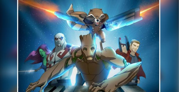 Disney XD's animated 'Guardians of the Galaxy' series gets poster, release date - http://bit.ly/1LQ2CsT
