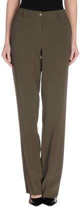 ETRO Casual pants - Shop for women's Pants - Military green Pants