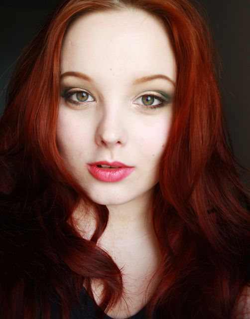 30 Best Images About Makeup For Hazel Eyes Nd Red Hair On