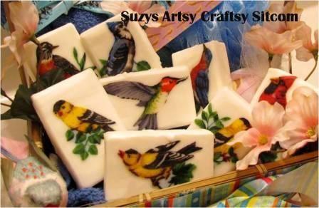 Hand-made Decorative Soaps tutorial / Suzys Artsy Craftsy Sitcom