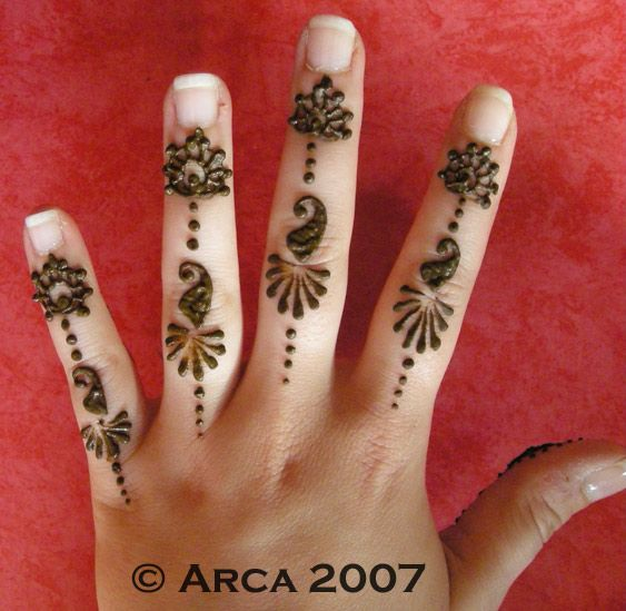 Quick Mehndi Patterns : Quick henna designs makedes
