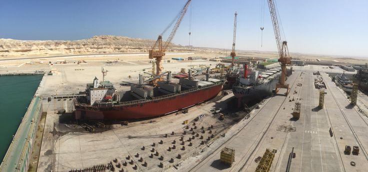 Dock 1 at Oman Drydock Company