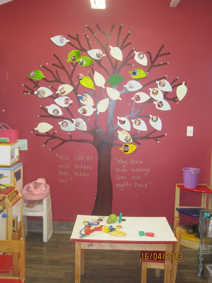 Our whanau tree at our centre