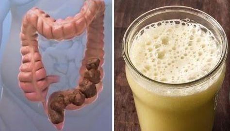 Buvez ce remède avant d'aller dormir pour vider votre côlon de tout ce que vous avez mangé pendant la journée !