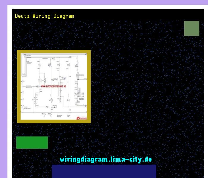 Deutz Wiring Diagrams online wiring diagram