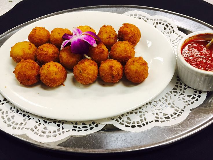 Saffron Arancini Recipe — Dishmaps