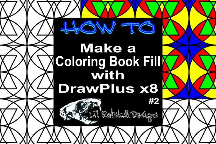 11 Best How To Videos Make Coloring Book Pages With Serifs