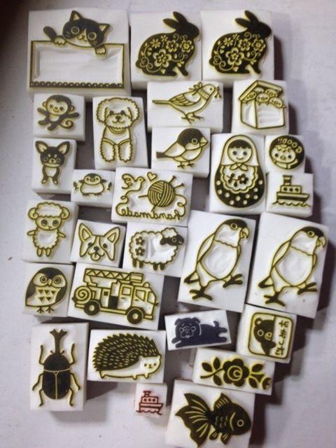Stamps by ART & CRAFT KOTORIの消しゴムはんこ