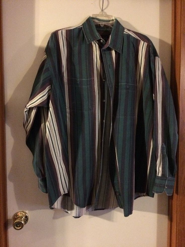 Men's Casual Shirt Size XL The Arrow Company | eBay