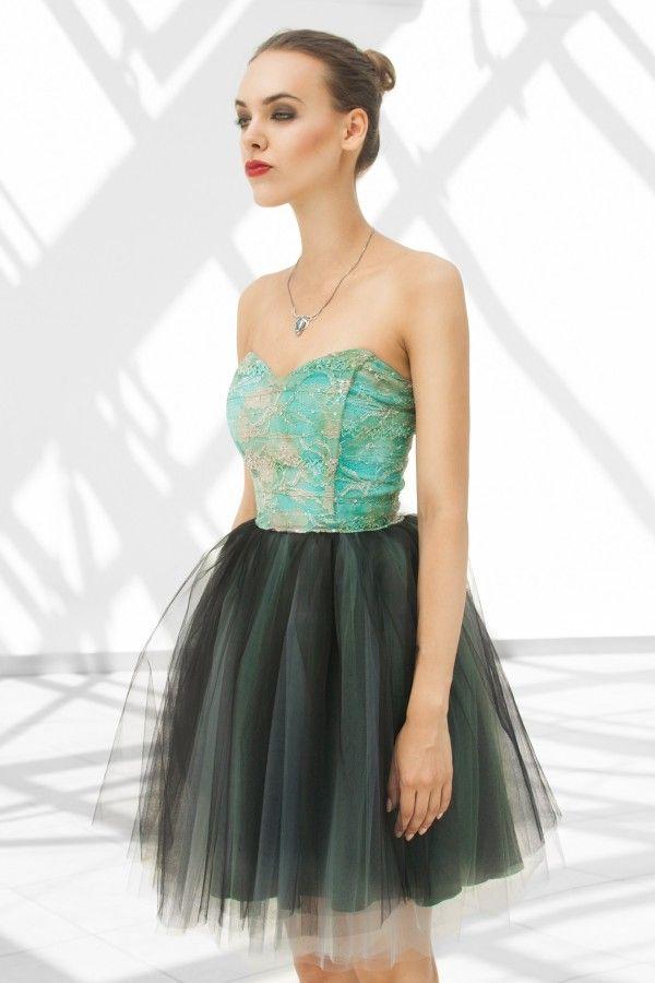 Oryginalna sukienka tiulowa z gorsetem od monnomboutique.pl <3