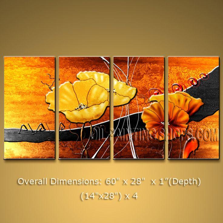 171 best cuadros de flores images on Pinterest | Watercolor flowers ...