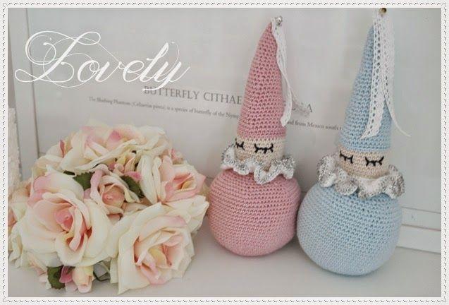 Camillas livsstil: Crochet sweet princess - virka söta prinsessor