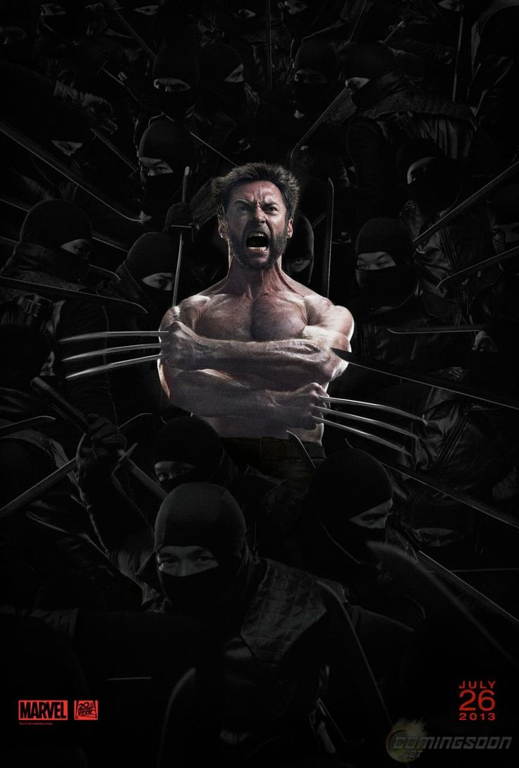 The Wolverine - Poster vía Comingsoon.net