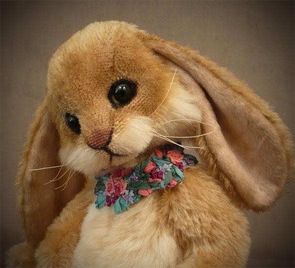 Flower the Bashful Bunny by Rosalie Frischmann