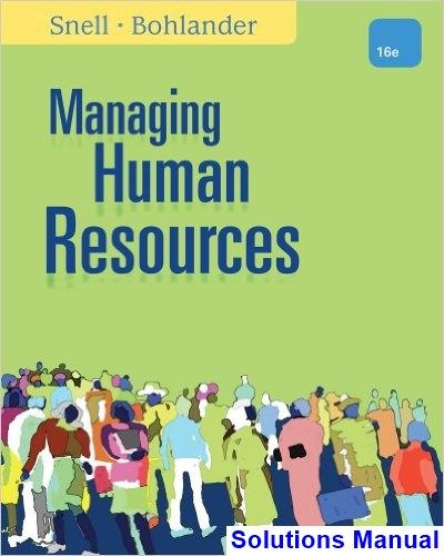22 best solutions manual download images on pinterest managing human resources 16th edition snell solutions manual test bank solutions manual exam fandeluxe Image collections
