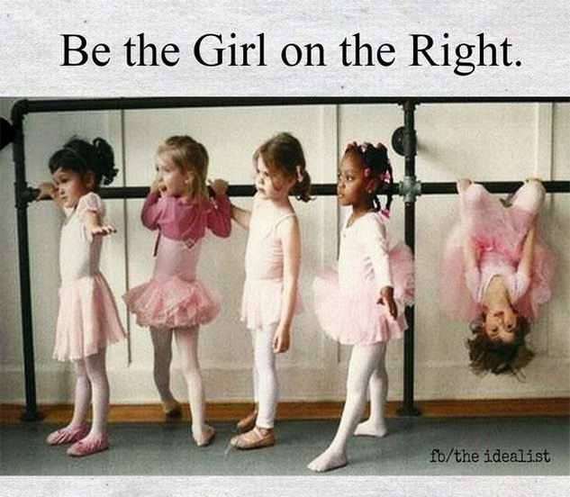 """This was sent to me by one of my favorite people with the message, """"you are the girl on the right."""" Yes. Yes I am."""