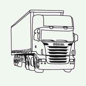 semi truck tractor trailer semi truck coloring page tractor trailer semi truck coloring - Semi Truck Trailer Coloring Pages