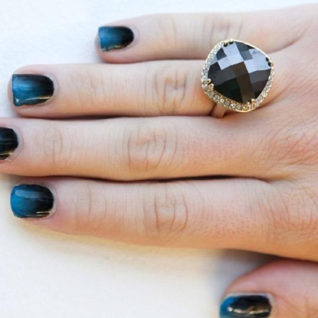 Ombré #blue #black #ombre