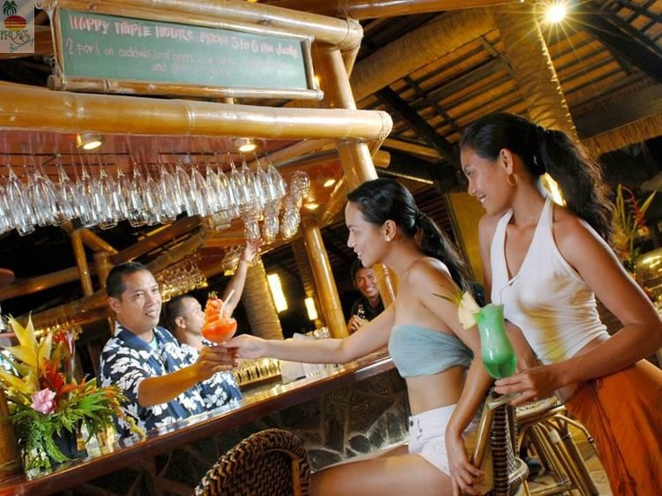 Fridays Boracay Bar  Enjoy happy hour from 3pm to 6pm while witnessing the spectacular sunset.