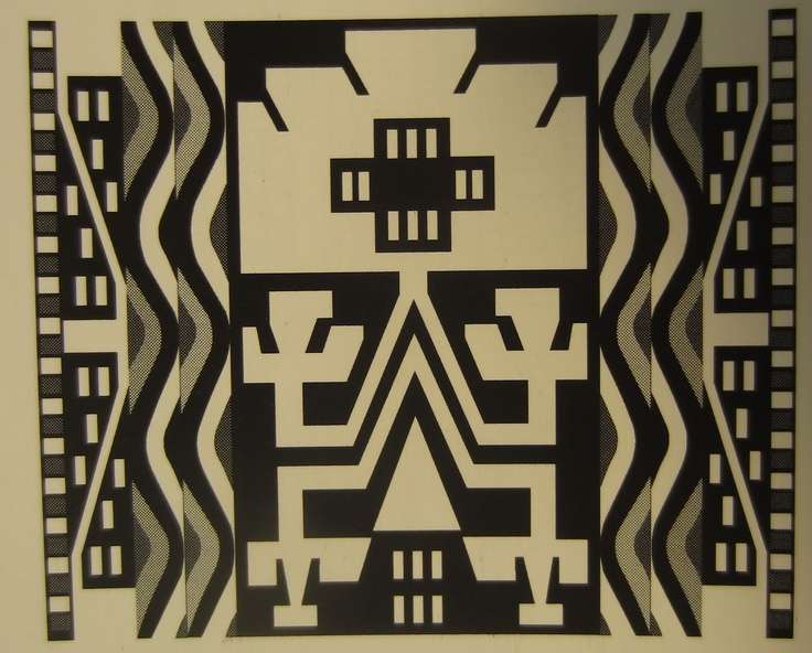 Lukutuwe: A symbol seen often in textiles and ceramics of the mapuche.