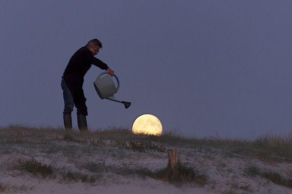 fun moon photos