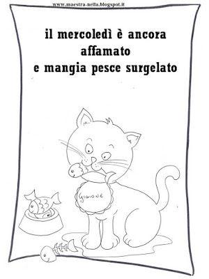 Filastrocca della settimana del gatto Gigione