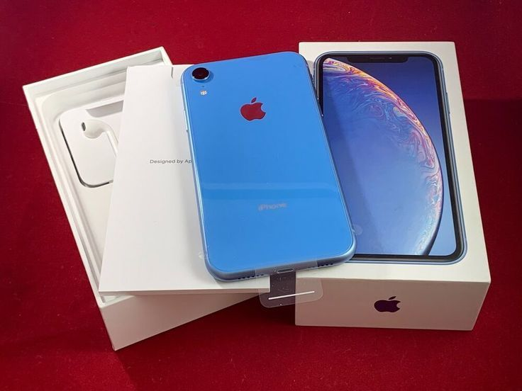 New Apple Iphone Xr 64gb Blue Verizon Unlocked A1984 Cdma Gsm At