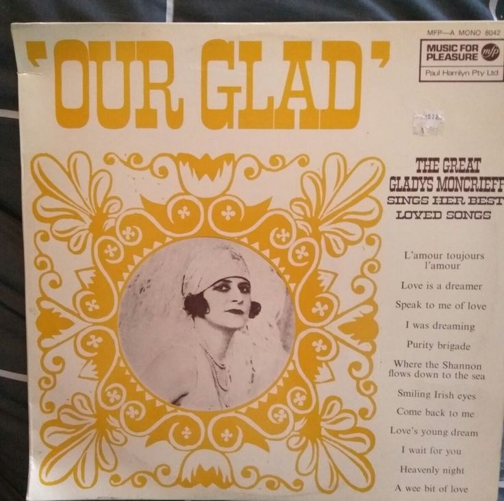 Gladys Moncrieff Our Glad Vinyl LP in Music, Records | eBay!
