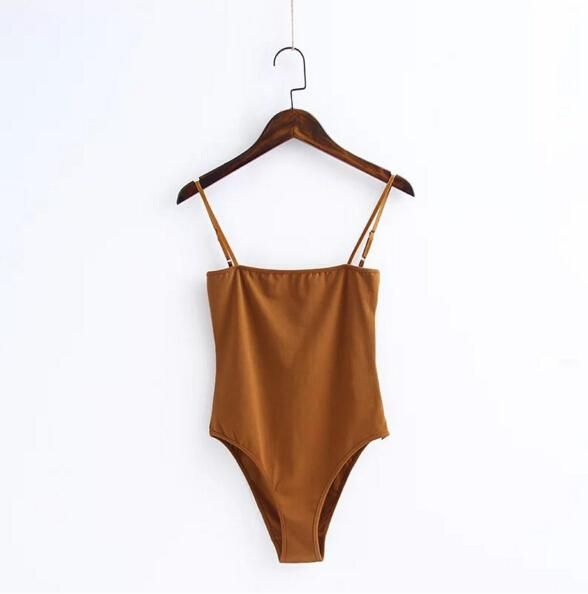 V neck Short sleeve Jersey Bodysuit Tight Short Jumpsuit Slim Rompers Playsuits
