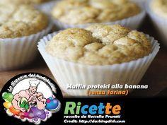 Muffin proteici alla banana (senza farina)