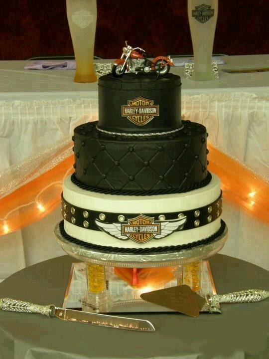 Harley Davidson Wedding Cakes   Cake Idea For Dad