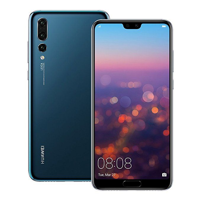 Huawei P20 Pro Clt L29 6gb 128gb 6 1 Inches Lte Dual Sim Factory Unlocked International Stock No Warranty Midnight Best Smartphone Prepaid Phones Huawei