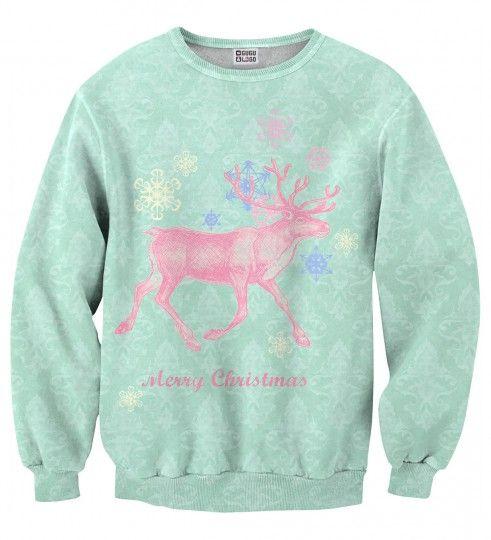 Bluza ze wzorem Christmas Deer Miniatury 2