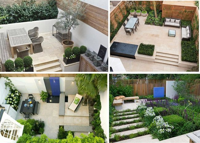 Organizar un patio peque o con una pileta chica buscar - Ideas para decorar un patio pequeno ...