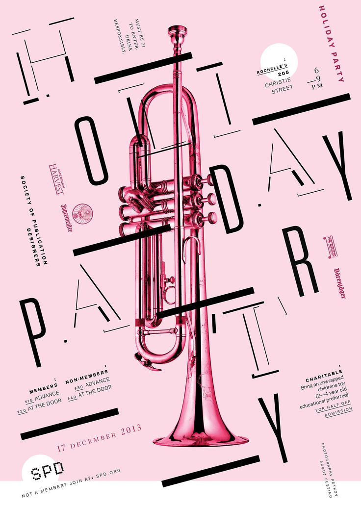 robertfestino: POSTER / INVITATION / HOLIDAY PARTY / 2013
