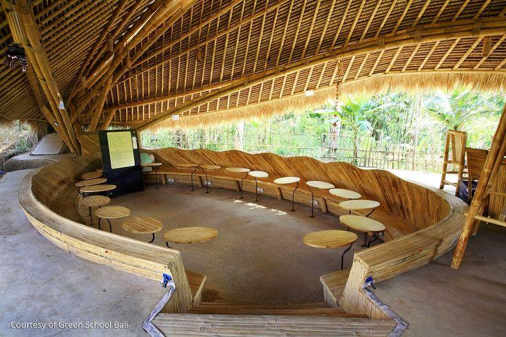 une des écoles les plus écologiques du monde / Bali